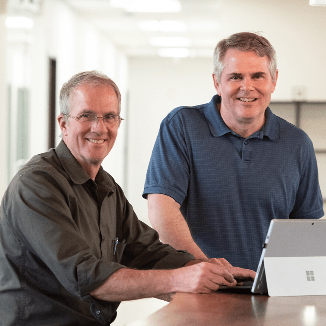 Founders Neal & Steve